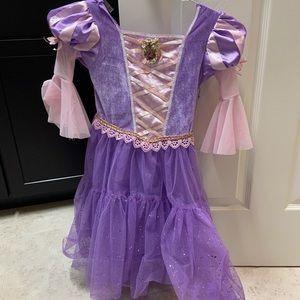 Toddler Rapunzel dress, size XS (3T-4T)